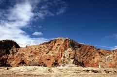 βουνά s Θιβέτ Στοκ Εικόνες