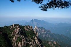 Βουνά Sanqingshan Στοκ Εικόνα