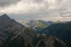 Βουνά Sayan στοκ εικόνα