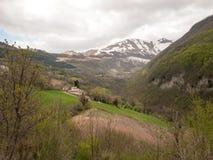 Βουνά Sibillini Στοκ Εικόνα