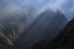 βουνά Sikkim Στοκ Φωτογραφίες