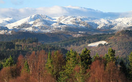 Βουνά Snowdonia, Ουαλία, UK Στοκ εικόνα με δικαίωμα ελεύθερης χρήσης