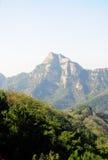 Βουνά Tai'an Κίνα στοκ εικόνες με δικαίωμα ελεύθερης χρήσης
