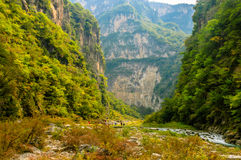 Βουνά Taihangshan στοκ φωτογραφίες