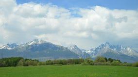 Βουνά Tatra Στοκ εικόνα με δικαίωμα ελεύθερης χρήσης