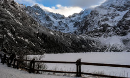 Βουνά Tatra Στοκ Φωτογραφία
