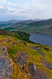 βουνά tay wicklow λιμνών της Ιρλανδίας Στοκ εικόνα με δικαίωμα ελεύθερης χρήσης