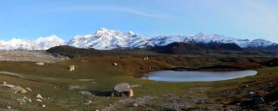 Βουνά Tuomuer Στοκ Φωτογραφία