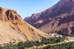 Βουνά Wadi Bani Awf - του Ομάν στοκ εικόνες με δικαίωμα ελεύθερης χρήσης