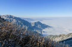 Βουνά Wugong στοκ φωτογραφία