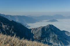 Βουνά Wugong στοκ εικόνες