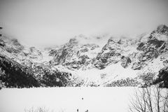 Βουνά - Zakopane το χειμώνα Στοκ φωτογραφία με δικαίωμα ελεύθερης χρήσης