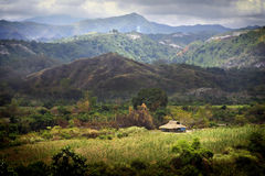 βουνά zambales στοκ εικόνες