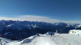 Βουνά Zillertal Στοκ φωτογραφία με δικαίωμα ελεύθερης χρήσης
