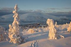 βουνοπλαγιά μονοπατιών Στοκ εικόνες με δικαίωμα ελεύθερης χρήσης