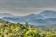 Βουνοπλαγιές Guadalcazar, Μεξικό στοκ φωτογραφίες με δικαίωμα ελεύθερης χρήσης