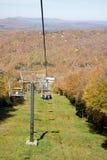 βουνό ανελκυστήρων εδρών Στοκ εικόνες με δικαίωμα ελεύθερης χρήσης
