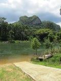 Βουνό απαρατήρητη Ταϊλάνδη καρδιών Στοκ Φωτογραφίες