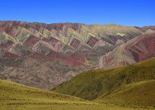 Βουνό Αργεντινή ουράνιων τόξων Στοκ φωτογραφίες με δικαίωμα ελεύθερης χρήσης