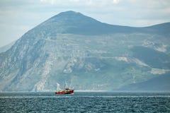 Βουνό αλιευτικών σκαφών Στοκ φωτογραφίες με δικαίωμα ελεύθερης χρήσης