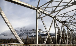 Βουνό Αλμπέρτα του Castle το χειμώνα Στοκ εικόνα με δικαίωμα ελεύθερης χρήσης