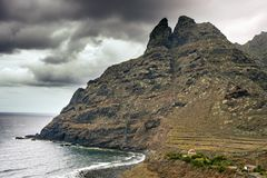 Βουνό δύο αδελφοί tenerife στοκ φωτογραφία με δικαίωμα ελεύθερης χρήσης