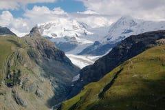 βουνό Ελβετός τοπίων Στοκ Εικόνες