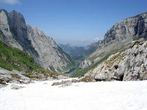 βουνό Ελβετός τοπίων Στοκ Φωτογραφία