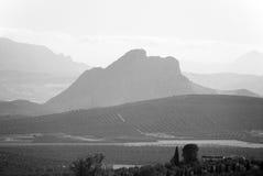 Βουνό εραστών, Antequera Στοκ Εικόνα