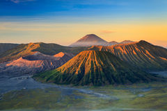 Βουνό ηφαιστείων Bromo στο εθνικό πάρκο Tengger Semeru Στοκ φωτογραφία με δικαίωμα ελεύθερης χρήσης