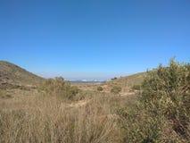 Βουνό, θάλασσα και ουρανός στοκ εικόνα με δικαίωμα ελεύθερης χρήσης