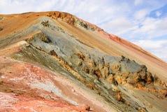 Βουνό Ισλανδία χρώματος Στοκ Εικόνες