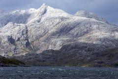 βουνό κέρατων ακρωτηρίων κοντά στην αιχμή Στοκ Φωτογραφία