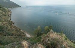 Βουνό και θάλασσα Στοκ φωτογραφίες με δικαίωμα ελεύθερης χρήσης