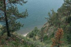 Βουνό και θάλασσα Στοκ Εικόνες