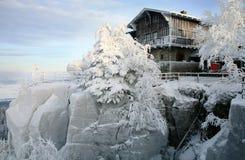 βουνό καλυβών Στοκ εικόνα με δικαίωμα ελεύθερης χρήσης