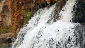 Βουνό καταρρακτών ποταμών απόθεμα βίντεο