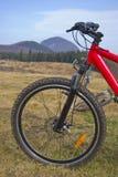 βουνό λεπτομέρειας ποδηλάτων Στοκ Εικόνες