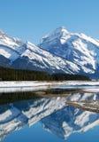 βουνό λιμνών rockies στοκ εικόνα με δικαίωμα ελεύθερης χρήσης