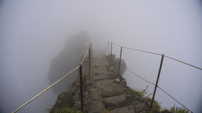 Βουνό με την ομίχλη Στοκ Εικόνα
