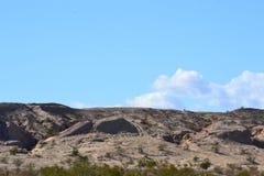 Βουνό με τον ουρανό Στοκ εικόνα με δικαίωμα ελεύθερης χρήσης