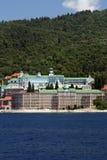 βουνό μοναστηριών athos Στοκ Εικόνες