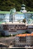 βουνό μοναστηριών athos Στοκ Εικόνα