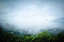 βουνό ομίχλης Στοκ εικόνα με δικαίωμα ελεύθερης χρήσης