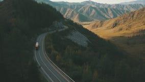 Βουνό ομορφιάς 4K απόθεμα βίντεο