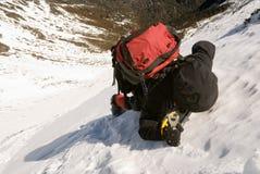 βουνό ορειβατών Στοκ Φωτογραφίες