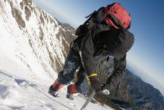 βουνό ορειβατών Στοκ Εικόνα