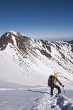βουνό ορειβατών Στοκ εικόνες με δικαίωμα ελεύθερης χρήσης