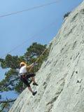 βουνό ορειβατών Στοκ εικόνα με δικαίωμα ελεύθερης χρήσης
