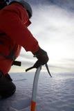 βουνό ορειβατών Στοκ Εικόνες